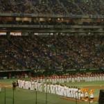 【画像あり】昨日のプロ野球開幕戦始球式でパンチラきたwwwwwwwwwwwww