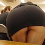 【画像】職場のエロケツ女のせいで「尻派」になっちまった…おっぱいもいいけどさ、尻、いいぞ。