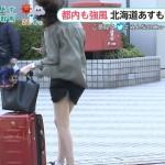 【強風】テレビのニュースで映ってしまった一般人のエッチな画像wwwwwwwwwwww