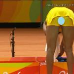 【画像】リオ五輪・生中継で女子バトミントン美人女子選手のマンスジがクッキリ映る放送事故wwwwwwww