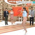 【画像】稲村亜美ちゃんがテレビでお尻を喰い込ませてケツ振りバッティッグwwwwwwwww