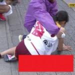 【悲劇】駅伝中継で恥ずかしいデカパンを晒されてしまったJD選手がコチラ・・・(画像あり)