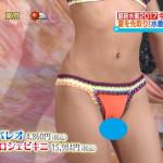 【画像】朝番組で2017年最新水着ショーがマンスジ祭りwwwwwwwwwwwwwww