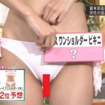 【画像】テレビ「男性が選ぶセクシー水着ランキング」で美女たちがクッキリ割れ目を大胆披露wwwwwwwwwww
