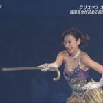 【おっぱい】浅田舞がGカップの巨乳をプルンプルンさせながらアイスショーで滑るwwwwwwwwwwwwwwwww