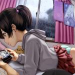 【画像】パンツ丸出しでゲームに夢中になっている女の子wwwwwwwwwwwww