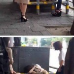 【肉便器】女の子が道端で、うっかり挟まって子作り開脚してしまうwwwwwwwwwwwwwww