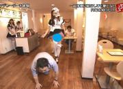 【放送事故】浜田の「ごぶごぶ」でドSなメイドのスカートの中身が終始映りっぱなしの事故画像wwwwwwwwwwww