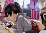 パンツ丸出しでゲームに夢中になっている女の子の画像wwwwwwwwwwwwwwww